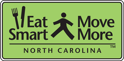 Eat Smart, Move More NC logo