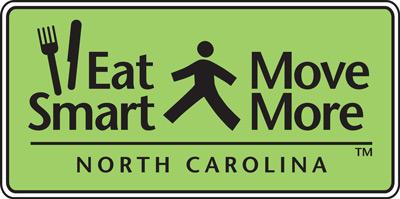 Eat Smart, Move More NC logo