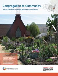 Congregation to Community: Shared Use by North Carolina Faith-based Organizations