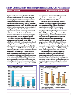 North Carolina Faith-based Organization Facility Use Assessment Executive Summary
